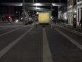 Beim Bahnhof am Freitag Abend