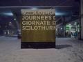 beim Bahnhof am Montag Abend
